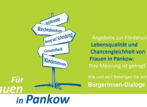 Bürgerinnen-Dialoge: Lebensqualität und Chancengleichheit von Frauen in Pankow