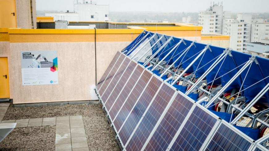 Windrail: Solar und Windernergie gebündelt erzeugen