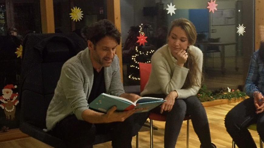 Weihnachtsgeschichten im Kinderhospiz