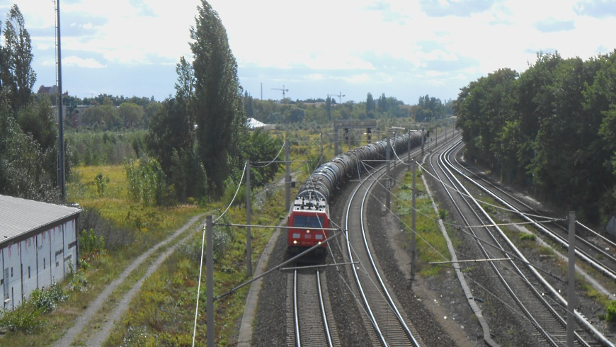 DB Kesselwagenzug in Pankow