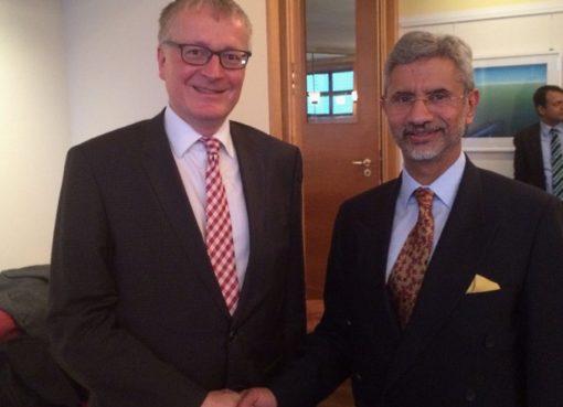 Staatsbesuch in Berlin: Dr. S. Jaishankar & Stephan Steinlein