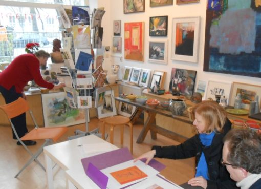 Galerie A - Kunstladen in Alt-Pankow
