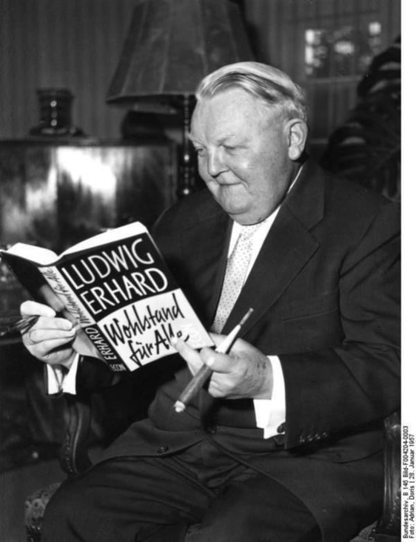 Ludwig Erhard 1957