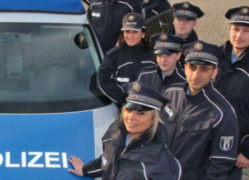 Polizist werden in Berlin