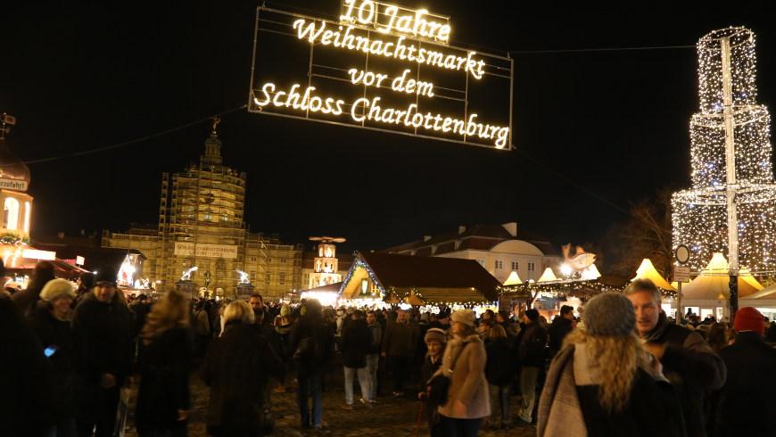 Weihnachtsmarkt Schloss Charlottenburg - Foto: © sceene.berlin