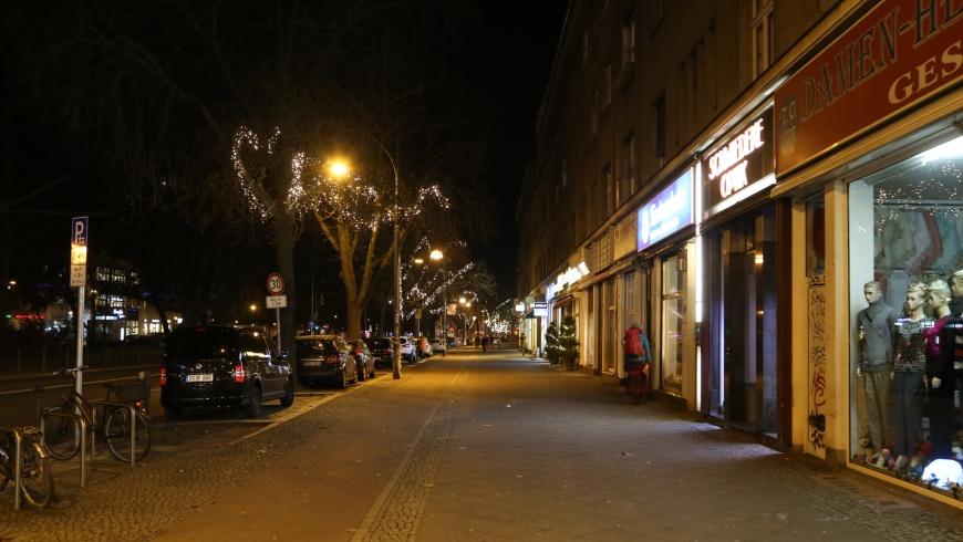 Weihnachtsbeleuchtung Breite Straße