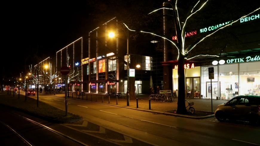 Weihnachtsbeleuchtung Rathaus Center Pankow