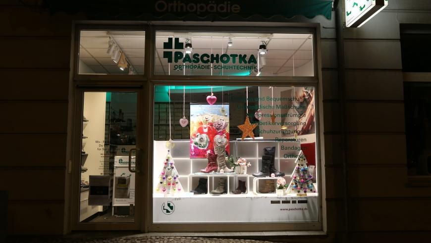Weihnachts-Schaufenster