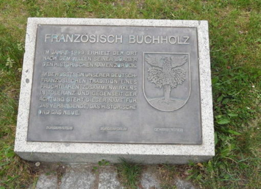 Gedenkstein Foto: © visit pankow!