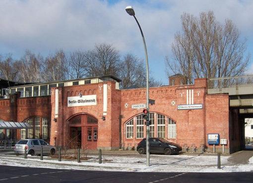 Wilhelmsruh S-Bahnhof - Foto: © Andre_de - Eigenes Werk, cc-by-sa 3.0