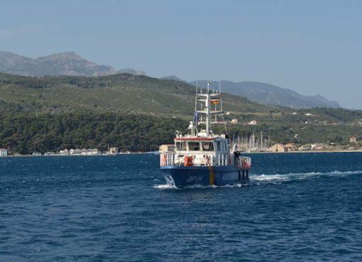 Bundespolizei kreuzt vor Samos