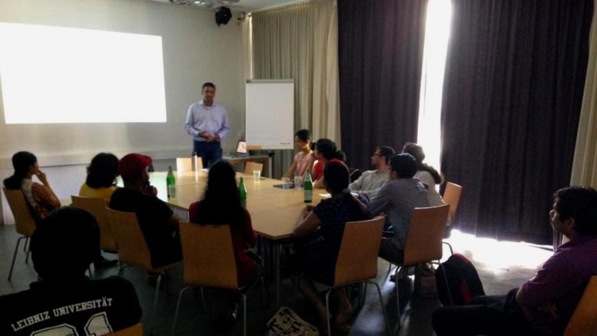 Indische Studenten in Deutschland