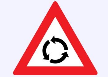 StVZVO-Gefahrenzeichen 3a (Österreich)