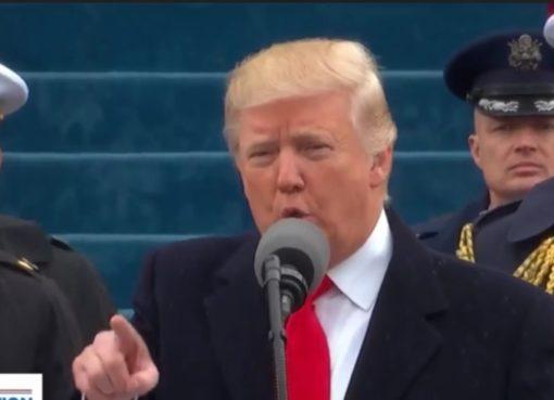 Antrittsrede von US-Präsident Donald J. Trump
