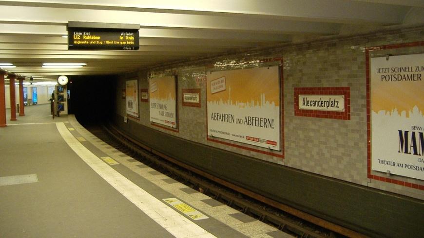 U2 - Bahnhof Alexanderplatz