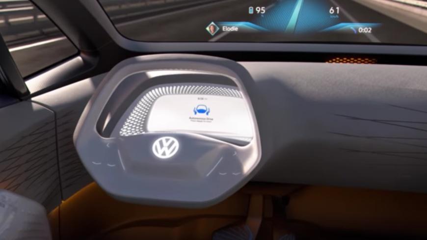 Autonomes Fahren VW I.D. Concept