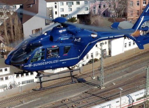 Helicopter der Bundespolizei