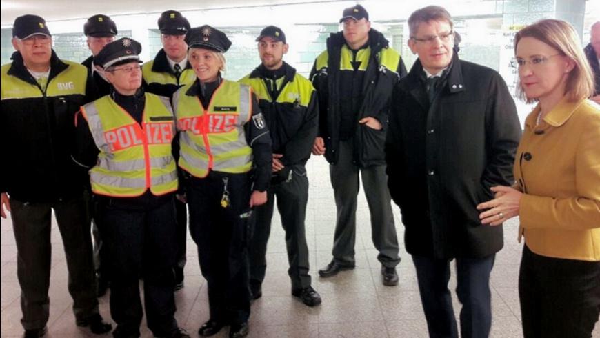 BVG und Polizei gemeinsam auf Streife