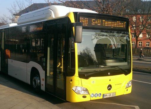 BVG testet CNG-Busantrieb