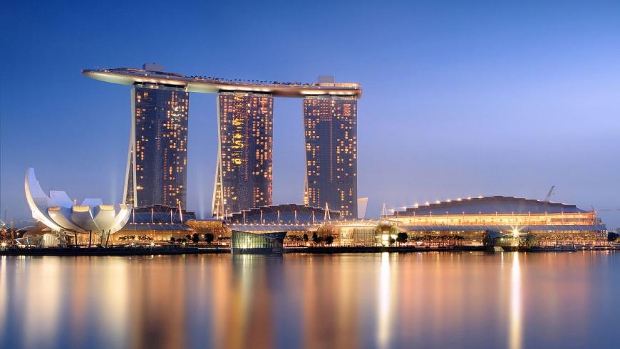 Hotelkomplex Marina Bay Sands