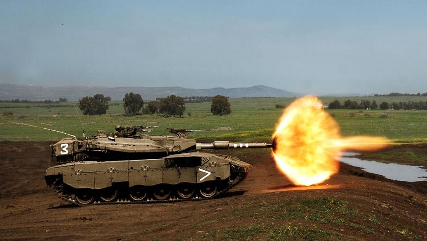 Kampfpanzer Merkava Mk 3d BAZ