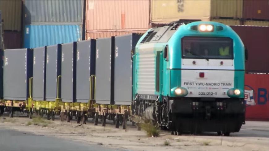 First YIWU-MADRID-TRAIN