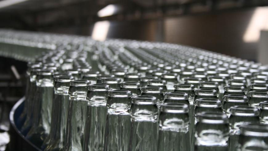 Flaschen-Abfüllanlage
