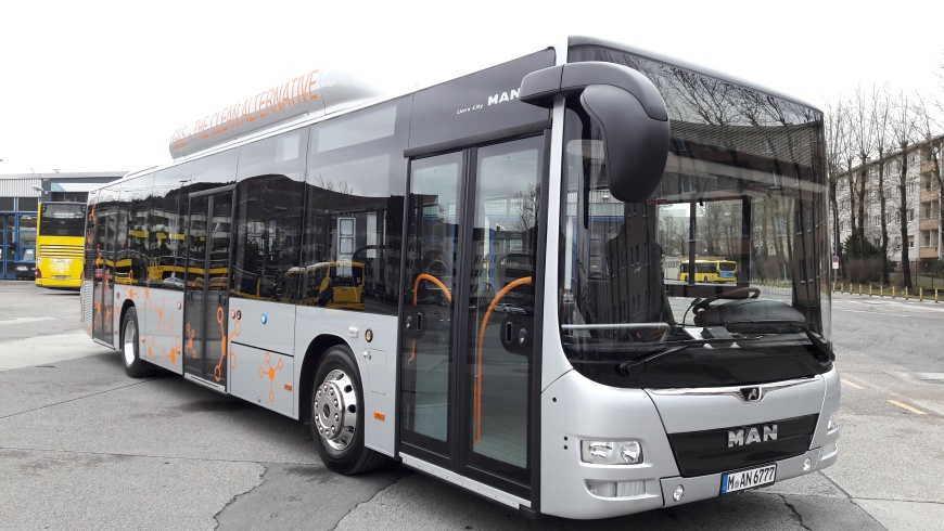 Im Test: MAN Lion's City CNG