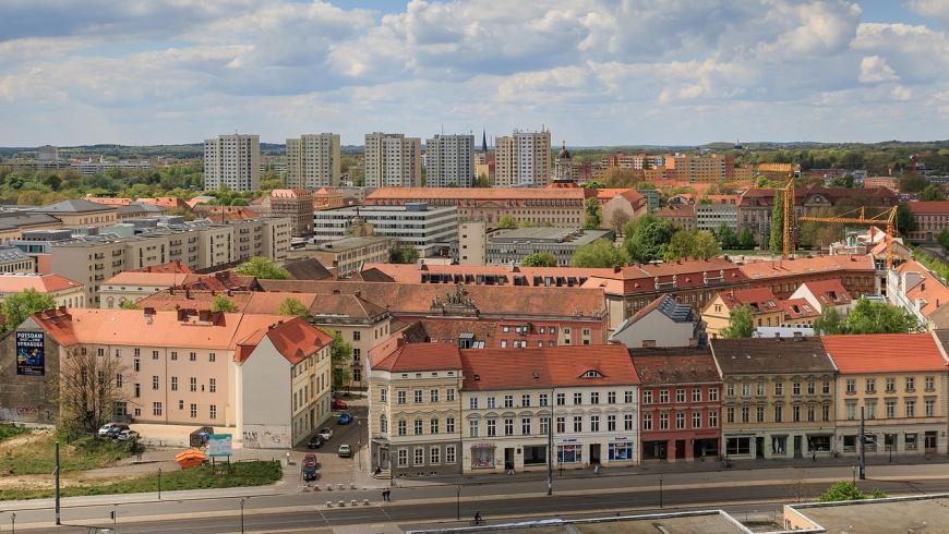 Potsdam westliche Innenstadt.
