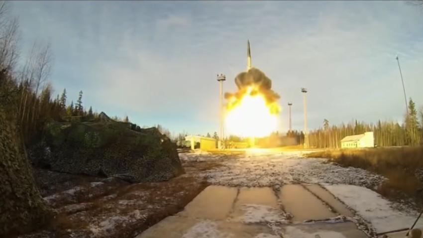 Teststart ICBM Topol