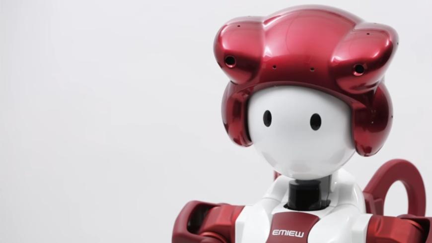 EMIEW3 - Humanoider Roboter von HITACHI