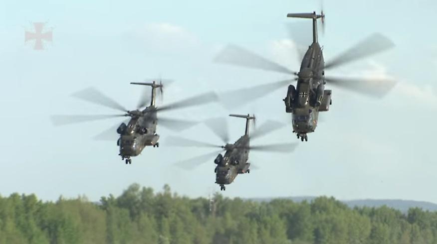 CH 53 Helikopter der Bundeswehr