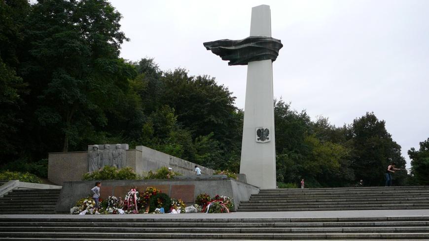 Denkmal im Berliner Volkspark Friedrichshain