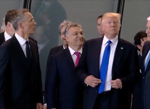 Donald J.Trump positioniert sich!