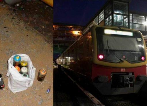 Bundespolizei nimmt Graffiti-Sprüher fest