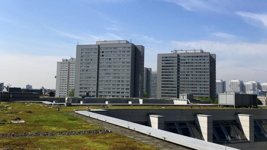 Berliner Wasserbetriebe mit Gründach