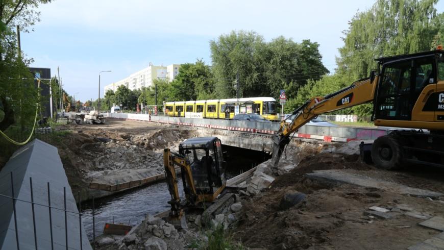 Baustelle Löffelbrücke