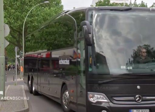 Schwarzbus unterwegs