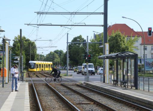 Tram 50 in Französisch Buchholz