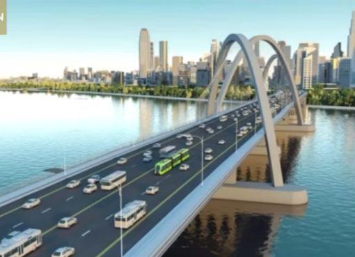 """""""Virtual Track Train"""" in Zhuzhou"""