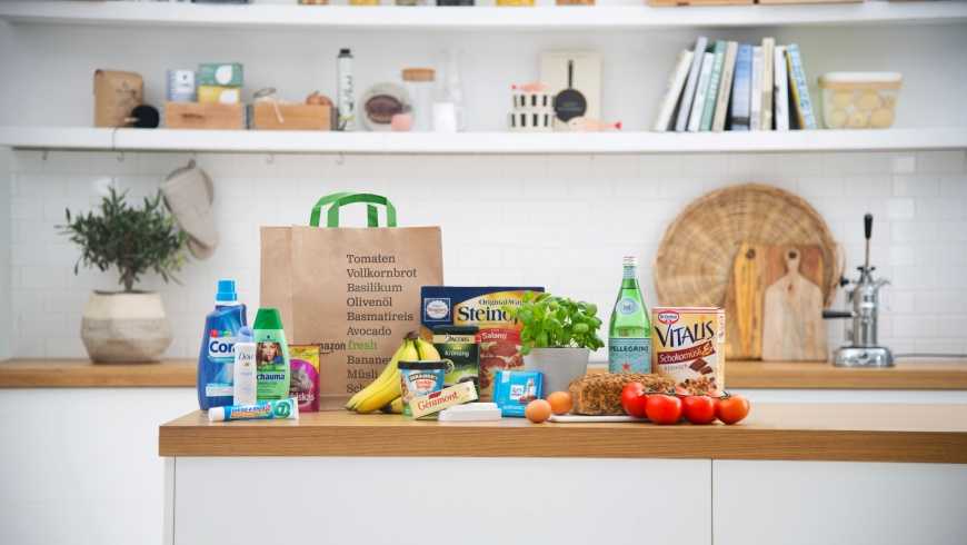 Amazon Fresh leifert Lebensmittel