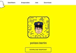 Snapchat Polizei Berlin