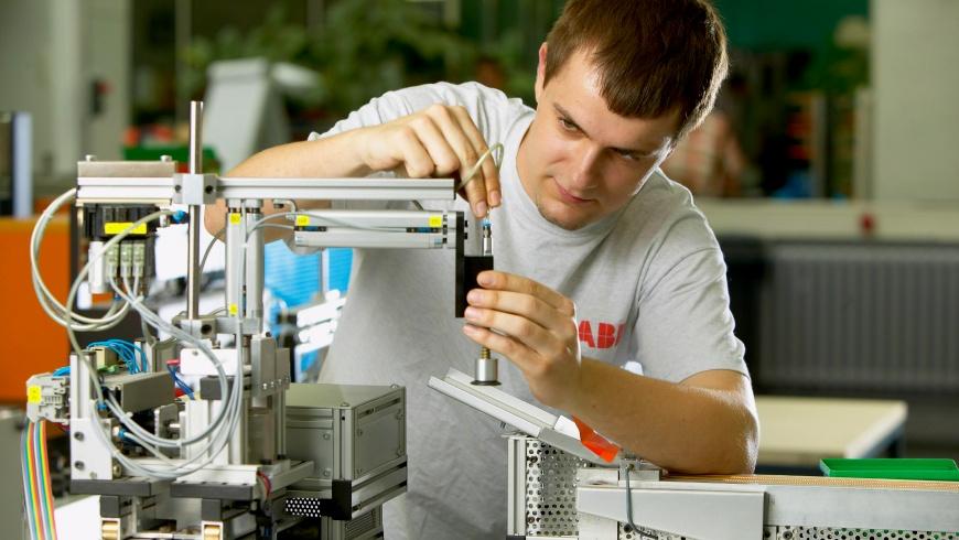 Ausbildung am ABB-Trainingszentrum