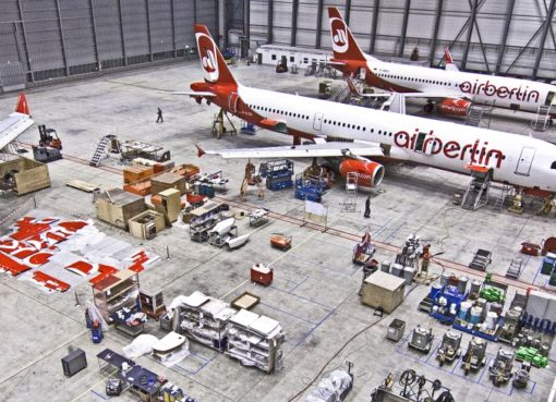 airberlin Technik-Hangar