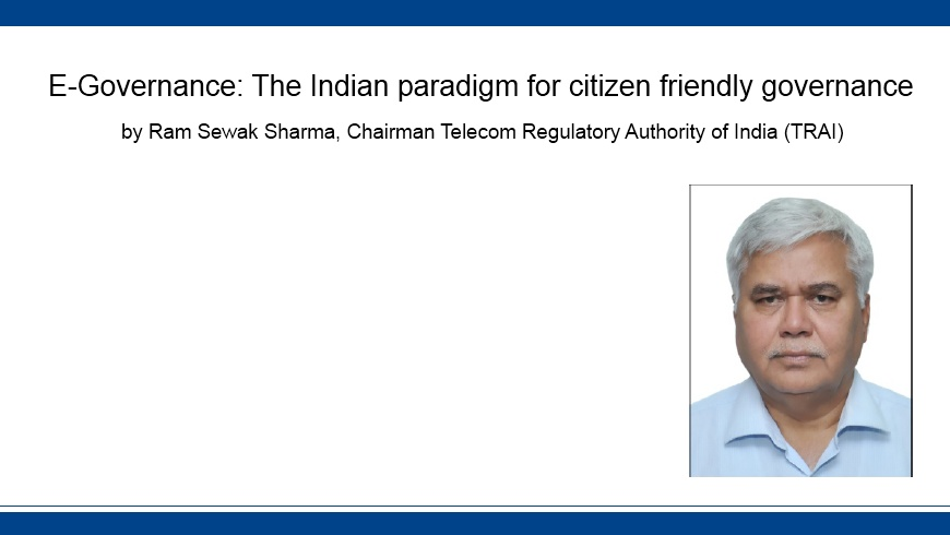 E-Governance: The Indian paradigm