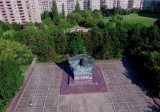Drohnenflug Thälmann-Denkmal