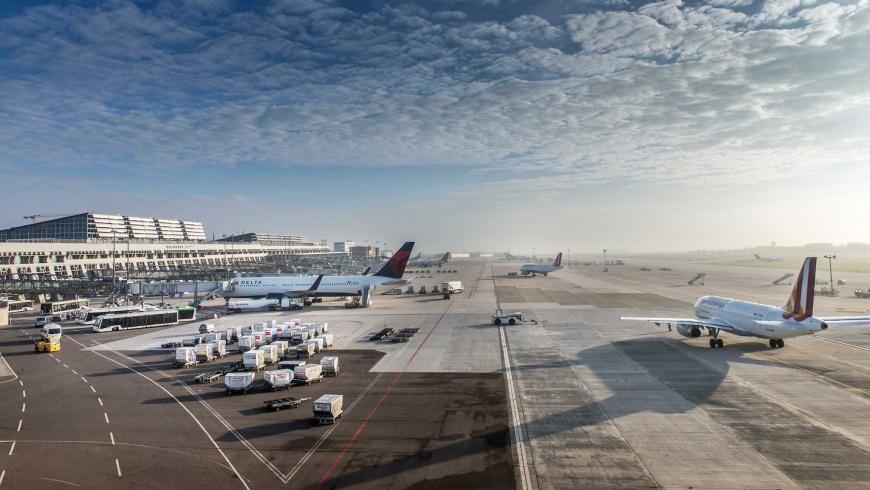Flughafen Stuttgart: Vorfeld