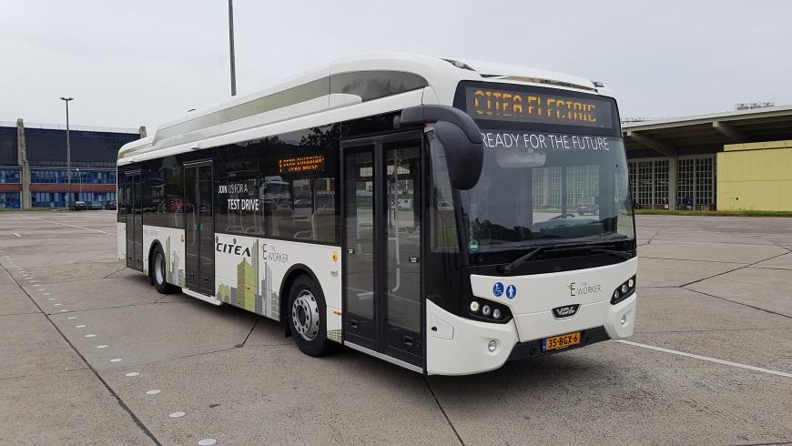Bus VDL Citea SLF-120 mit Elektroantrieb