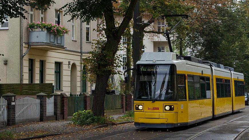Tram M1 in Pankow