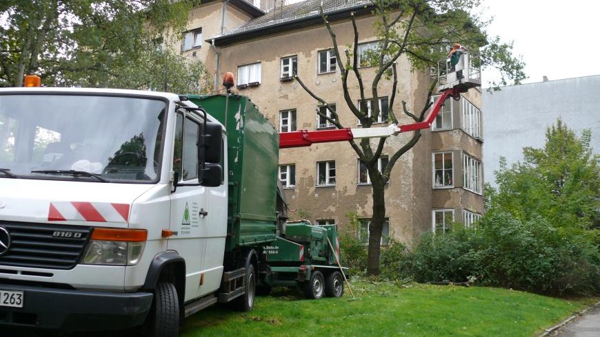 Baumarbeiten Wohnanlage Grellstraße